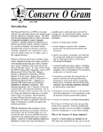 Conserve O Gram